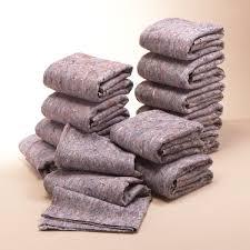 Lot de couvertures de déménagement